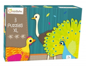 3 XL puzzles, Feathered creatures