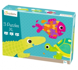 3 XL puzzles, Scaled creatures